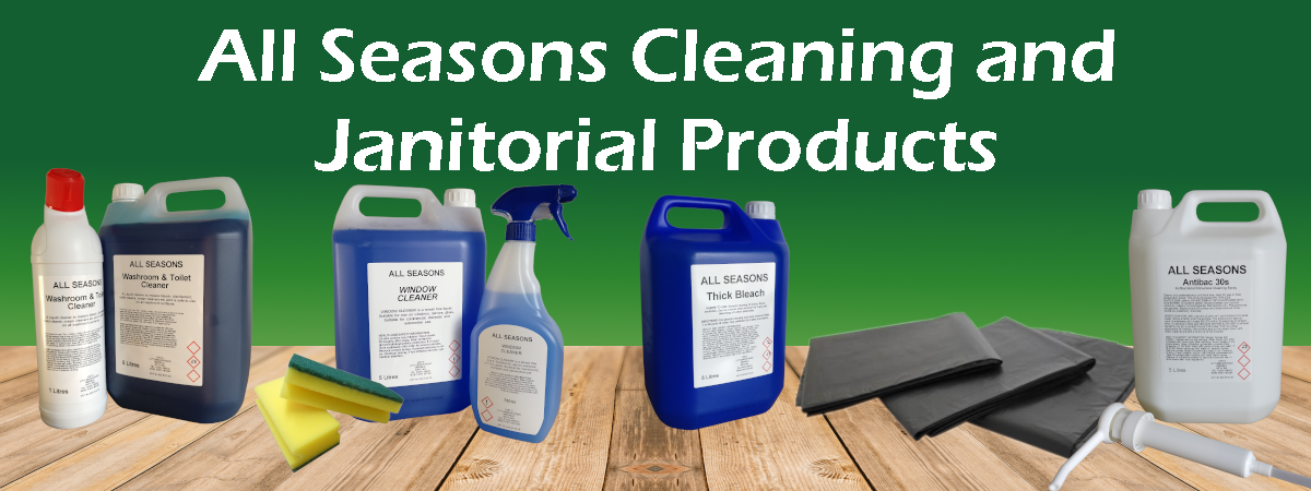 cleaning and janitorial banner