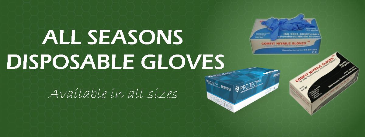 gloves banner texture background